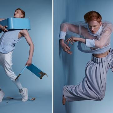 photo credit: Marta Musial, styling: Roz Van Velsen, Model: Marne Van Opstal.