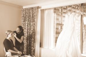 bruidsmake-up bruiloft visagie visagiste Rotterdam